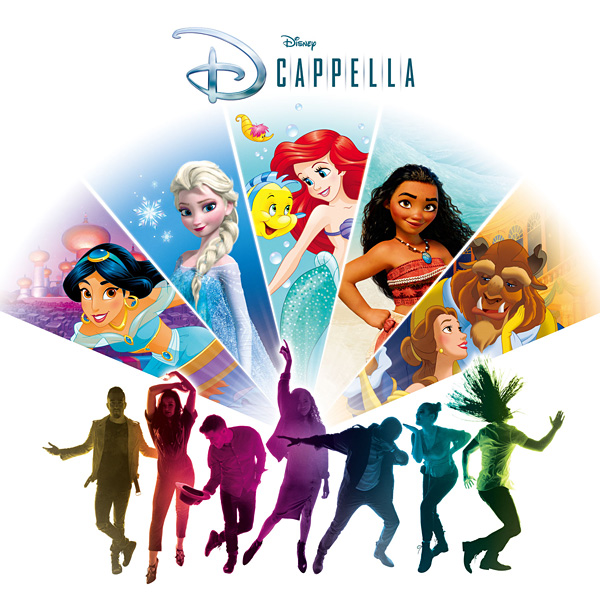 DCappella「Part of Your World / A Whole New World」